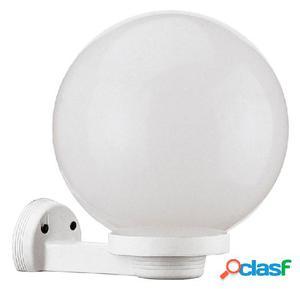 Aplique pared globo exterior blanco Alia E27 42W IP43