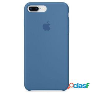 Apple funda iphone 8 plus / 7 plus - azul vaquero - silicone