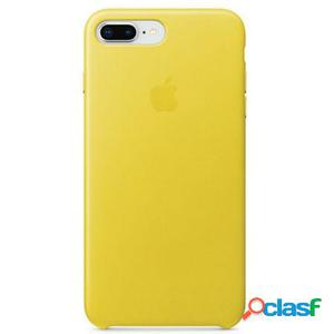 Apple funda iphone 8 plus / 7 plus leather case - amarillo