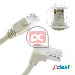 Cable de red de categoría 6 cat.6 rj45 acodado-recto utp