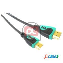 Cable hdmi 1.4 de tipo hdmi-a macho a hdmi-a macho de 3 m