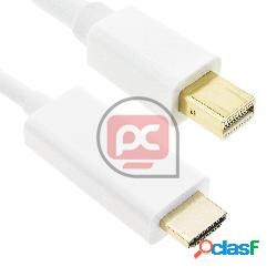 Cable mini displayport macho a hdmi macho de 5 m