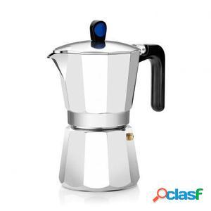 Cafetera monix induction express - 6 tazas - aluminio con