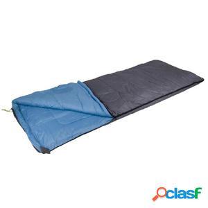 Camp Gear Saco de dormir Comfort Deluxe 220x90 cm gris y