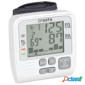 Cresta Monitor de tensión arterial de muñeca BPM158 blanca
