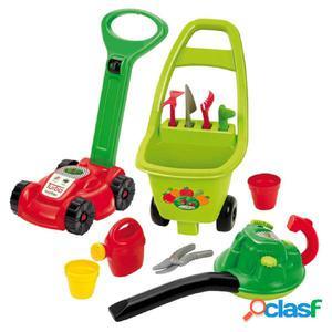 Ecoiffier Set de herramientas de jardín de juguete 3 en 1