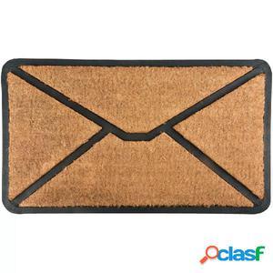Esschert Design Felpudo de caucho Envelope RB175