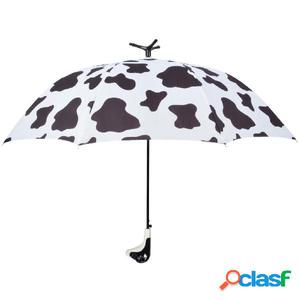 Esschert Design Paraguas Cow 98 cm blanco y negro TP215