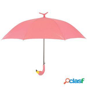 Esschert Design Paraguas Flamingo 98 cm rosa TP194