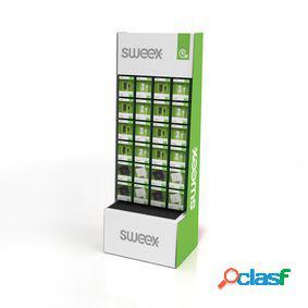 Expositor de suelo con 114 productos incluidos