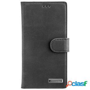 Funda tipo libro Commander para Sony Xperia L2 - negro