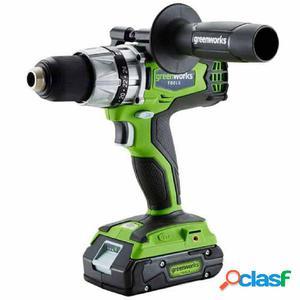 Greenworks 417784 Taladro combi batería 24 V no incl. G24CD