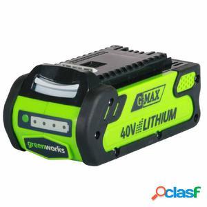 Greenworks Batería 40 V 2 Ah G40B2 29717
