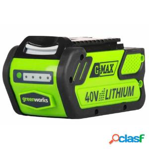 Greenworks Batería 40 V 4 Ah G40B4 29727