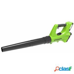 Greenworks Soplador de hojas 24 V batería no incluida G24AB