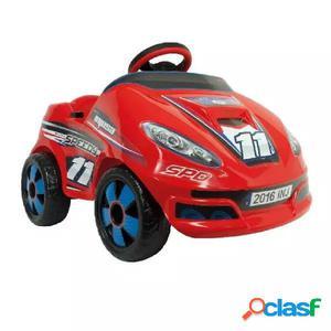 INJUSA Coche eléctrico de juguete Speedy 6 V Rojo 7141