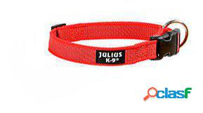 Julius K9 Collar Color & Gray IDC rojo 25 mm 500 GR
