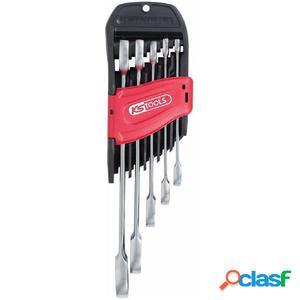 KS Tools Juego de 5 llaves combinadas GEARplus 8-19 mm