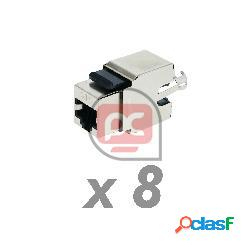 Keystone rj45 hembra tb110 cat.6 ftp apantallado (8