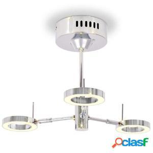 Lámpara LED de techo con 3 luces blanco cálido