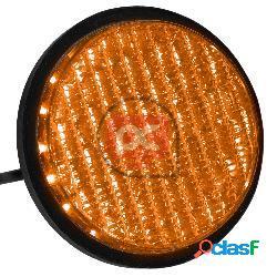 Luz led para semáforo ip65 100mm de 12-24v amarillo
