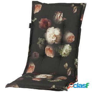 Madison Cojín para silla de espaldar alto Dark Flower