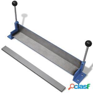 Máquina plegadora manual de placas de acero, 450 mm