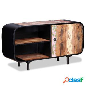 Mueble para TV de madera reciclada 90x30x48 cm