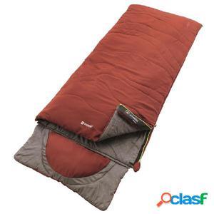 Outwell Saco de dormir Contour 225x90 cm rojo ocre 230228