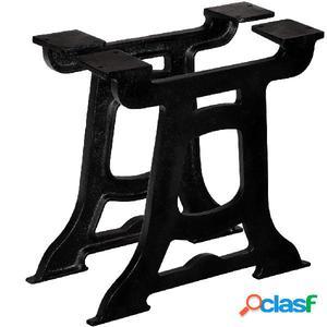 Patas de mesa de comedor en Y hierro fundido 2 unidades