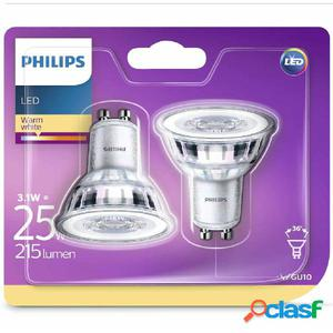 Philips Bombillas de foco LED 2 uds Classic 3,1 W 215 lm