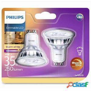 Philips Bombillas de foco LED 2 uds Classic 4 W 250 lm