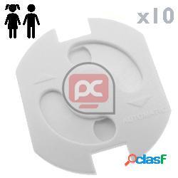 Protector de seguridad infantil adhesivo para enchufes