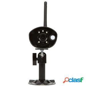 SEC24 Set de cámara de vigilancia inalámbrica 1080P negro