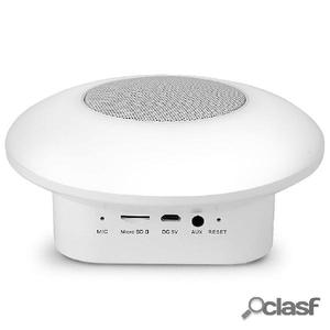 SMOOZ Altavoz Bluetooth con luz LED RGB Disc de plástico