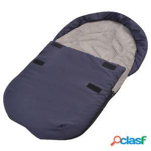 Saco portabebé/Saco para sillita de coche 75x40 cm azul