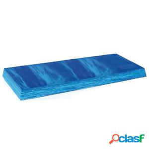 Sissel Cojín de equilibrio Balancefit 95x41x6 cm azul
