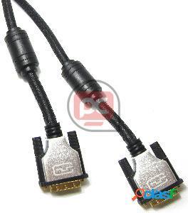 Super cable dvi-d macho a dvi-d macho de 1,8 m dual link