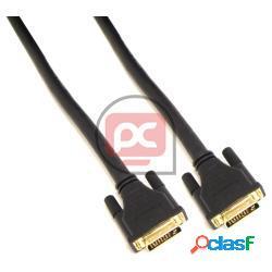 Super cable dvi-d macho a dvi-d macho de 25 m dual link