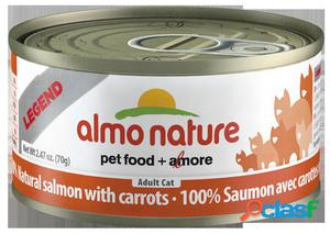 Almo nature Cat Hfc Legend Natural Salmon y Zanahoria 70 GR