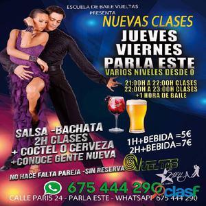 VEN!!! VEN!!! HOY CLASES DE BAILE GRATIS CON TU ENTRADA