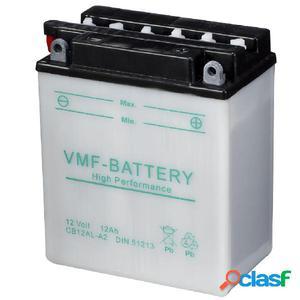 VMF Powersport Batería para motocicleta, 12 V 12 Ah