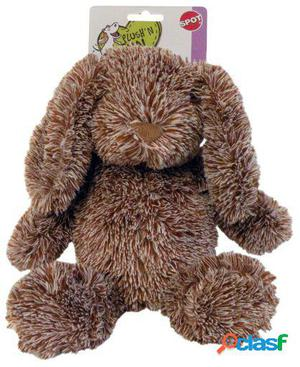 Agrobiothers Dog Toy Brown Cuddle Bunnies Spot 103 gr