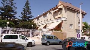 Altabix, triplex adosado en urbanización privada con zonas