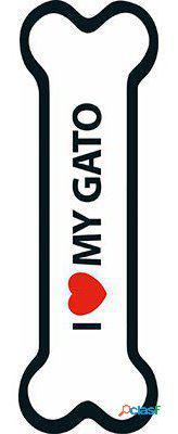 Magnet & Steel Imán I Love My Gato 100 GR