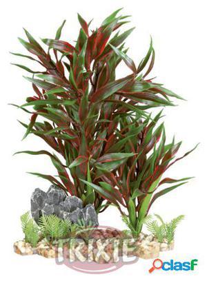 Trixie Plantas Pl?stico Base Grava, 18 Cm 18 cm