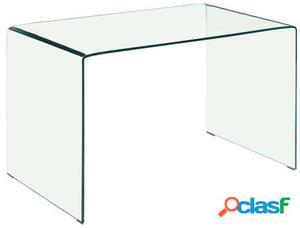 Wellindal Mesa Consola Lass 60 Cristal Transparente