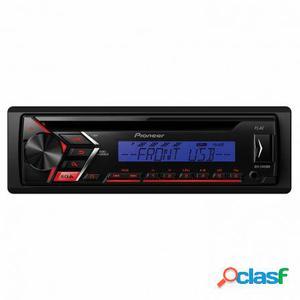 Autorradio pioneer deh-s100ubb - cd - mosfet 50wx4 - fm/am