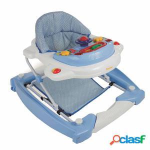 Baninni Andador para bebés 2 en 1 Classic azul claro