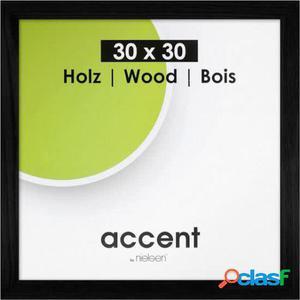 Nielsen Design Marco De Madera Accent Magic Negro 30X30 Cm